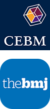 CEBM and BMJ logo